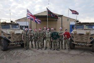 Troops grateful for their Comfort Packs from home in Doncaster