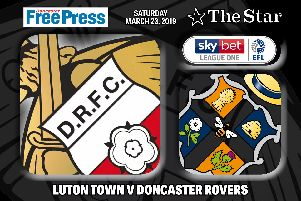 Luton Town v Doncaster Rovers