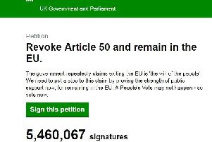 This is how many people in Doncaster have signed petition calling for Brexit to be cancelled