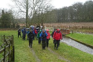 Doncaster Ramblers walk by the Chesterfield Canal