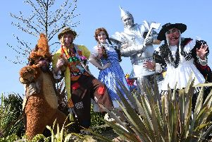 Wizard Of Oz entertainment comes to Yorkshire Wildlife park