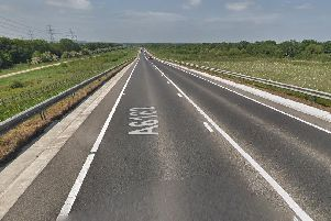 Motorists are facing delays on the Great Yorkshire Way this morning
