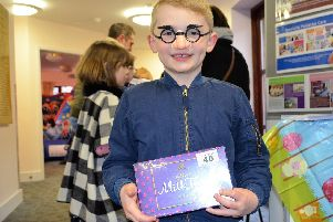 Freddie Doyle pictured at last years Lindsey Lodge Hospice Easter Eggstravaganza