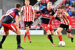Doncaster Rovers struggled to contain Aiden McGeady. Picture by FRANK REID