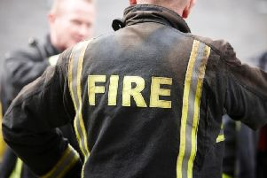 South Yorkshire Fire and Rescue were sent out to a Doncaster suburb last night, after arsonists torched a wheelie bin
