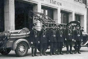 Doncaster Auxiliary Fire Brigade in 1940