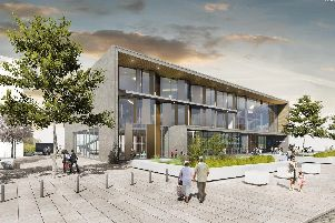 An artists impression of how Doncaster University Technical College could look