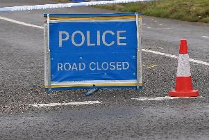 The road was blocked whilst police and paramedics attended the scene.