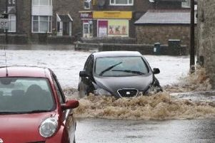 The fire service say they will not come out to help vehicles stuck in flooded roads