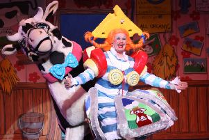 Tickets to be won for Westfield Folkhouse's latest panto spectacular at Mansfield Palace Theatre