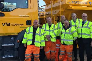 Notts County Council's gritting team