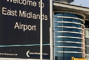 Man arrested over rapewhile boarding flight at East Midlands Airport