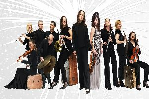 Sinfonia Viva  perform New Year's Eve gala concert at Nottingham's Royal Concert Hall.