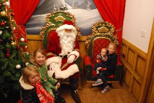 Youngsters can meet Santa at Drayton Manor's Magical Christmas. Picture: Jon Ball