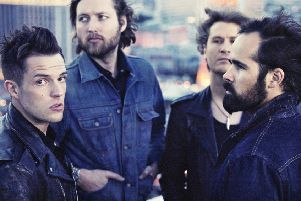 The Killers play Sheffield's Fly DSA Arena on November 25.