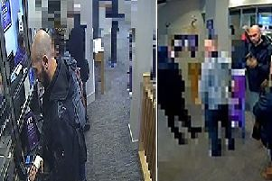 Man sought in connection with bank fraud
