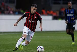 Suso of AC Milan