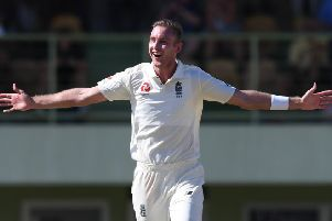 Stuart Broad, who is expecting to be 'available quite a lot' for Notts this year. (PHOTO BY: Shaun Botterill/Getty Images)