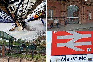 Crime at Notts train stations