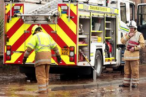 Firefighters play a vital role in rescuing people from floods