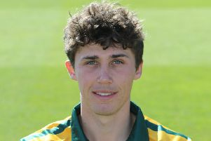 Nottinghamshire CCC 2019, Paul Coughlin