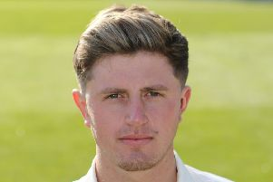 All-rounder Zak Chappell, who is keen to make an impression at Trent Bridge.