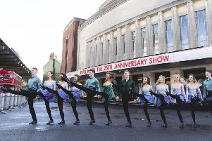 RIVERDANCE 25th Anniversary publicity photography
