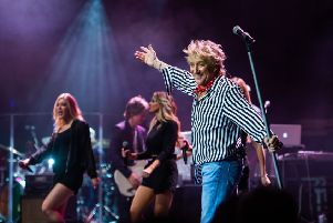Get your tickets soon to see Rod Stewart perform at Motorpoint Arena Nottingham later this month