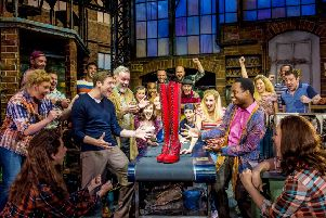 Check out hit musical Kinky Boots at Nottingham Theatre Royal soon