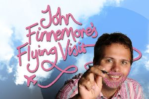 Get tickets to see radio star John Finnemore hit the stage at Royal Concert Hall