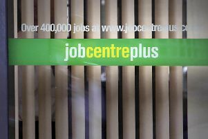 Unemployment in Broxtowe is higher than the English average