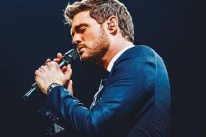 Michael Buble is live in Nottingham in December.