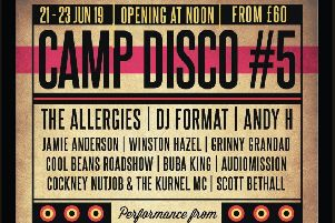 Music and family fun as Camp Disco returns for fifth festival