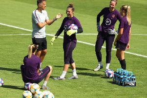 The England Lionesses prepare for the biggest game of their careers against the USA tonight.