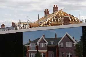 Fewer new houses are being built in Broxtowe