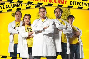 Brainiac Detective Academy is coming to Nottingham Royal Concert Hall soon