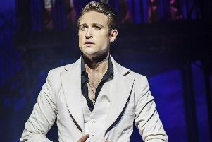 Richard Winsor hits the dance floor in Saturday Night Fever at Nottingham Theatre Royal next month