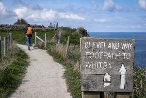 The Cleveland Way is just one of England's popular coastal paths