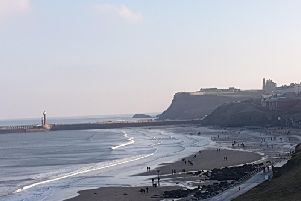 Whitby in the Winter Sun