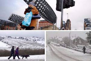 A period of wet, windy and snowy weather is expected to hit Yorkshire next week.