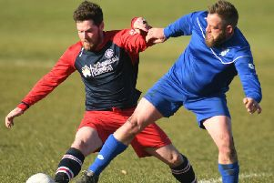 Driffield League action