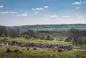 Riders on Barden Moor during day three of the Tour de Yorkshire from Richmond to Scarborough. The sun has been shining across the county this week and there is more to come on Sunday and Monday. Picture: Danny Lawson/PA Wire