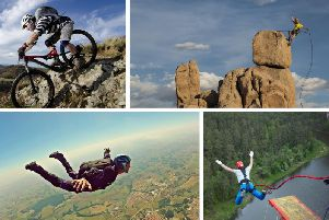 Yorkshire has a wide array of centres, natural coastlines and scenic terrain where you can embrace your inner adrenaline junkie and try something new