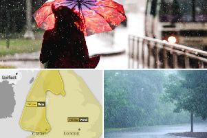 Storm Bronagh is set to hit Yorkshire with heavy rain and strong winds