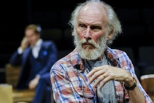 Christopher Godwin in Better Off Dead, written & directed by Alan Ayckbourn, at the Stephen Joseph Theatre.