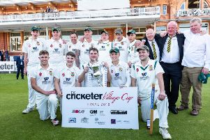 Flixton who are the 2018 National Village Cup champions.