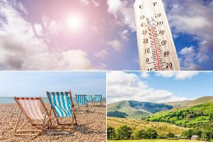 Although October usually sees wet and windy weather conditions, the weather this week is set to see warmer temperatures, with an Indian Summer expected
