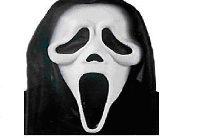Scream mask.