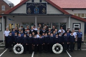 Filey Sea Cadets are hoping to raise �5,000 in the bid to purchase a new bus.