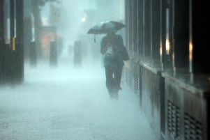 """Heavy rain is on its way to Blackpool as the Met Office warns that some flooding is """"likely""""."""